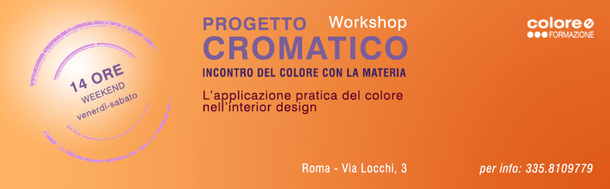 Workshop Progetto Cromatico