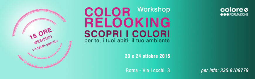 Workshop Color Relooking