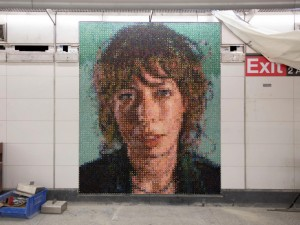 06_NY Second Avenue–86th Street CHUCK CLOSE Subway Portraits