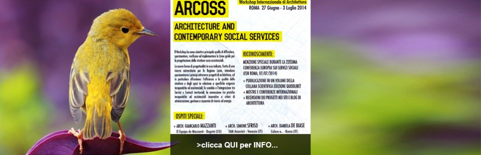 WORKSHOP ARCOSS